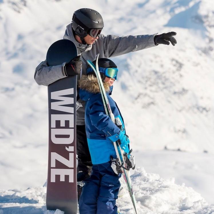 wedze snowboard