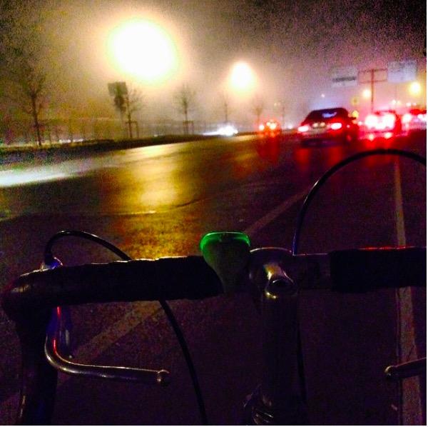 gece bisiklet